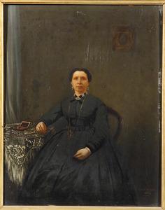 Portret van Francina Gips (1823-1901)