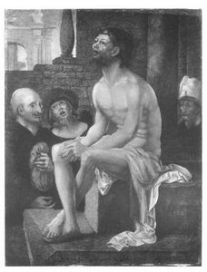 Christus rust na de geseling