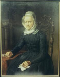 Portret van Carolina Bernhardina Racer (1778-1857)