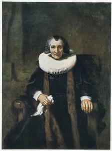 Portret van  Margaretha de Geer (1583-1672)