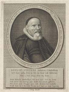 Portret van Roelof Petri (1585-1649)