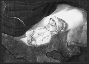 Kind op het doodsbed