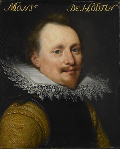 Portret van Willem de Zoete de Laeke ( -1637)