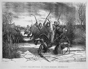 Koning Willem door de West-Friezen omgebracht