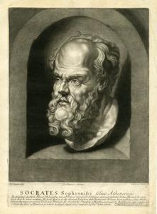 Buste van Socrates