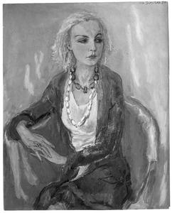 Portret van Karin Leyden (1906-1977)