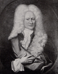 Portret van Diederik van Romondt (1676-1737)