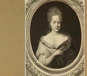 Portret van Catharina Hoffer (1678-1707)