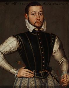 Portret van een man, waarschijnlijk Adolf van Cortenbach (1540-1594)