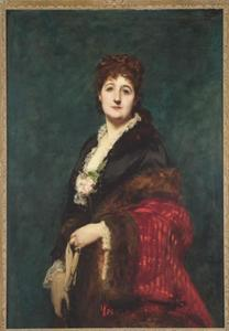 Portret van Gravin Borye des Renaudes