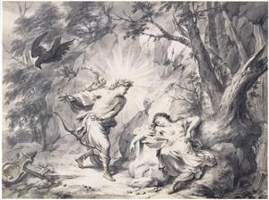 Apollo doodt Coronis (Metamorfosen 2:602-620)