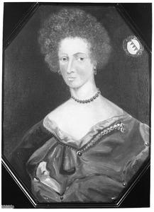 Portret van Margaretha Elisabeth van Oer