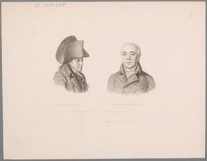 Portretten van Hidde Heeremiet (1756-1821) en Hendrik Berkman (1753-1835)