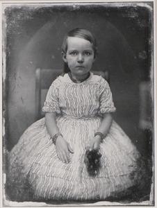 Portret van Ottoline Henriette toe Laer (1845-1921)