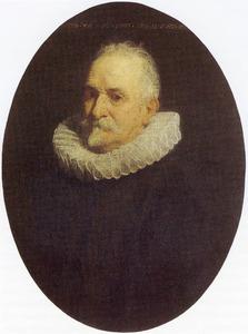 Portret van een onbekende 70-jarige man