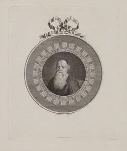 Portret van Menno Simons (1496-1561)