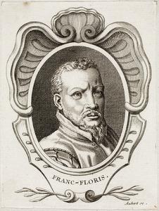 Portret van Frans Floris (....-1570)