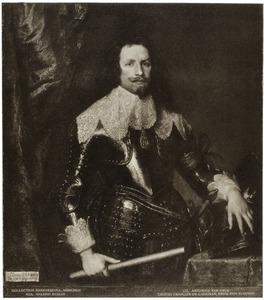 Portret van  François Thomas de Carignan, prins van Savoye, opperbevelhebber en Gouverneur-Generaal van de Spaanse Nederlanden
