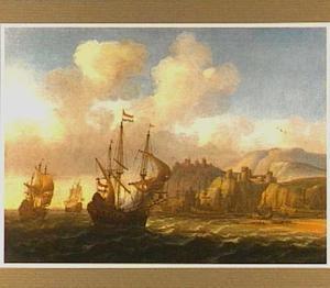 Schepen voor een zuidelijke haven
