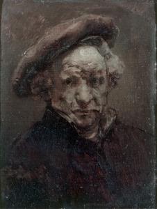 Zelfportret met baret