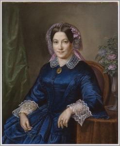 Portret van Maria Bloemen (1827-1865)