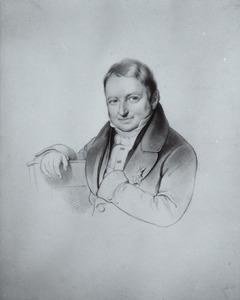 Portret van Jonkheer Willem Lodewijk Johan von Daehne (1810-1895)