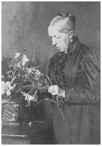 Portret van Gerardine Jacoba van de Sande Bakhuyzen (1826-1895)
