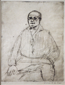 Portret van Jan Wiegers