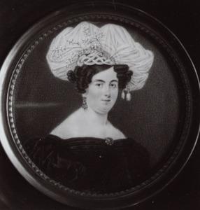 Portret van Margaretha Cornelia Wilhelmina Snouckaert van Schauburg (1802-1870)