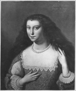 Portret van Maria Elisabeth van den Bergh (1613-1671)