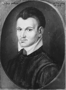 Portret van Jan Poltrot de Mere (+ 1563)