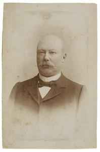 Portret van Adriaan Bowier (1857-1931)