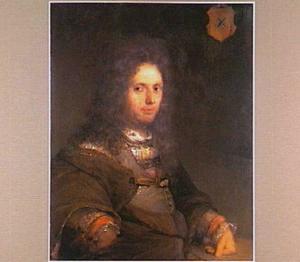 Portret van Johan van der Burgh  (1660-1732)