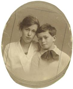 Portret Uteke en Chris van Beresteyn