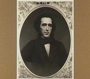 Portret van Petrus Augustus de Genestet (1829-1861)