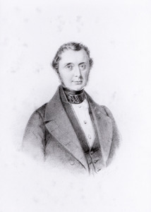 Portret van Daniel de Blocq van Haersma de With (1797-1857)