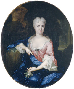 Portret van Maria van Vredenburch (1682-1770)