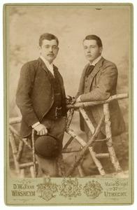 Portret van Aarnoud Jan Anne Aleid baron van Heemstra (1871-1957) en Hendrik Philip Jacob baron van Heemstra (1872-1929)