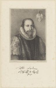 Portret van Marcus Lycklama à Nyenholt (1573-1625)