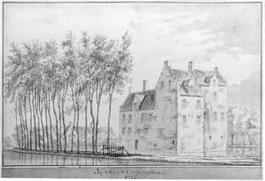 Kasteel Rijnouwen, achterkant