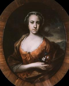 Portret van Alida van der Linden (1732-1766)