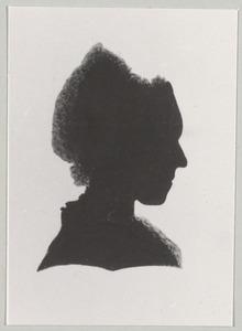 Portret van mademoiselle van Royen