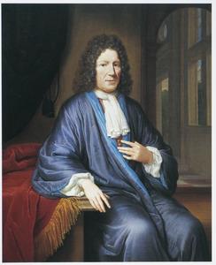 Portret van een man, mogelijk Hendrick van Deventer (1651-1724)