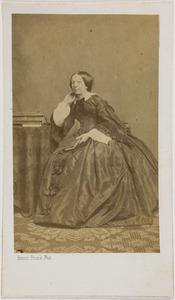 Portret van Maria Wilhelmina Just de la Paisieres (1808-1890)