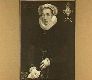 Portret van Anna Steffensdr. van Heussen (?-1612)