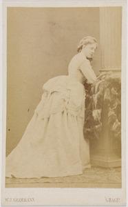 Portret van Henriette Sara Hora Siccama (1844-1924)