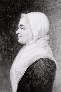Portret van Neeltje Moens (1727-1808)