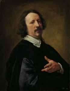 Portret van de schilder Gaspard de Crayer (1584-1669)