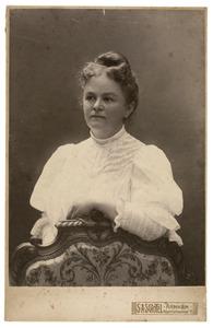 Portret van Egberdina Anna Junius (1868-1951)