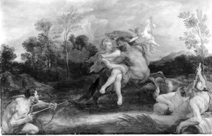 Deianeira en Nessus (Ovidius, Metamorfosen, IX, 111-123)